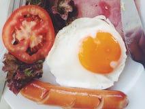 Nourritures de petit déjeuner Photos libres de droits