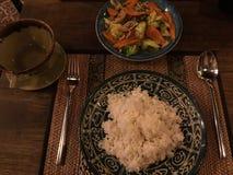 Nourritures de tradition de Khmer photographie stock