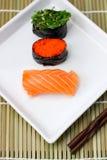 Nourritures du Japon de sushi Photographie stock