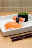Nourritures du Japon de sushi Image libre de droits
