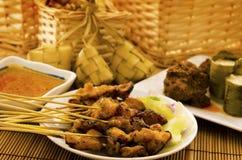 Nourritures malaises asiatiques de Ramadhan Photographie stock libre de droits