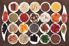 Nourritures pour la santé Images libres de droits