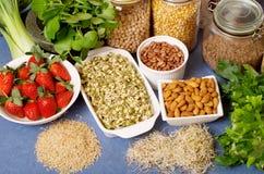Nourritures saines Images libres de droits