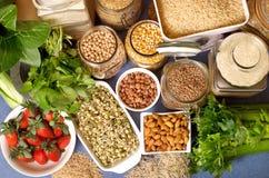 Nourritures saines Image libre de droits
