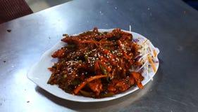 Nourritures savoureuses du Kerala image libre de droits