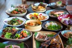 Nourritures thaïes photos stock