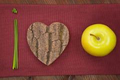 Nous aimons des fruits et légumes. Photo stock