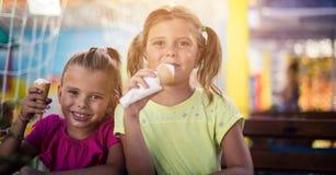Nous aimons la crème glacée  photographie stock libre de droits