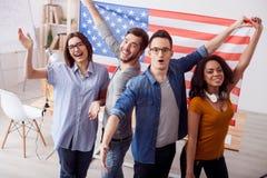 Nous aimons unit des états de l'Amérique Photographie stock libre de droits