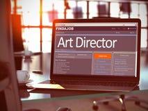 Nous Art Director de location 3d Photographie stock