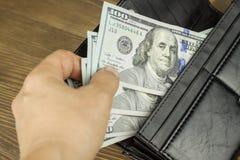 Nous dollars américains Image stock