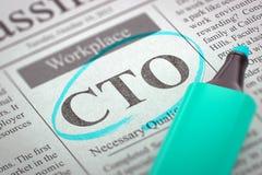 Nous louons le CTO 3d Photos stock