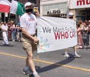 Nous mars pour ceux qui ne peuvent pas Photos stock