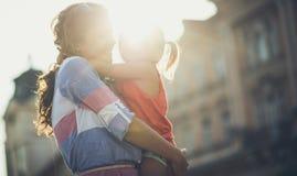Nous partageant l'amour spécial images stock