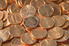 Nous pièces de monnaie Images stock