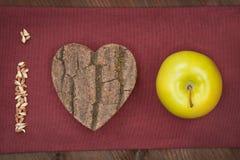 Nous pomme d'amour. Photographie stock libre de droits
