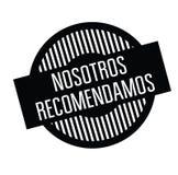 Nous recommandons le timbre dans l'Espagnol illustration libre de droits
