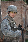 Nous soldat Images stock