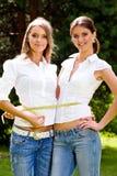 Nous sommes de belles amies inséparables Photographie stock libre de droits