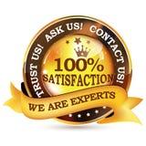 Nous sommes des experts Faites- confiancenous Image stock