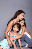 Nous sommes famille Images libres de droits