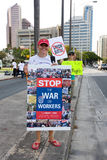 Nous sommes un rassemblement -6 de solidarité d'Hawaï Photo stock