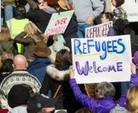 Nous te souhaitons la bienvenue Images libres de droits