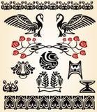 nouveau птицы искусства Стоковые Изображения RF