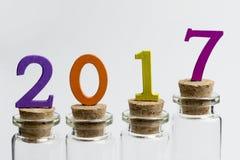 Nouveau 2017 Photographie stock libre de droits