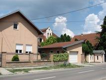 Nouveau bâtiment à Novi Sad Images libres de droits
