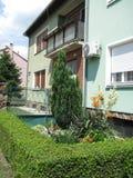 Nouveau bâtiment à Novi Sad Photo stock