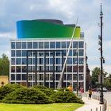 Nouveau bâtiment d'académie de musique croate photographie stock libre de droits