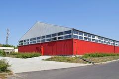 Nouveau bâtiment d'entrepôt Images stock