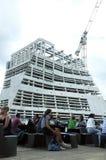 Nouveau bâtiment de l'extension de Tate Modern Photographie stock