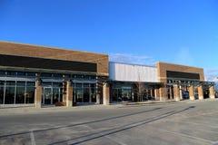 Nouveau bâtiment commercial Images libres de droits