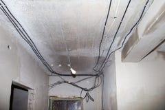Nouveau câblage Image stock