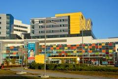 Nouveau centre médico-social d'université de McGill Images stock