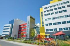 Nouveau centre médico-social d'université de McGill Image libre de droits