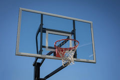 Nouveau cercle de basket-ball images libres de droits