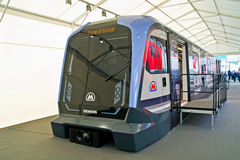 Nouveau chariot pour le passage souterrain photo stock