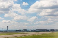 Nouveau Chitose Airport Runway Images stock