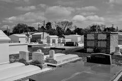 Nouveau cimetière de routes Photo stock