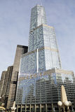 Nouveau connectez-vous la tour d'atout Chicago Image stock