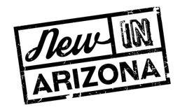 Nouveau dans le tampon en caoutchouc de l'Arizona illustration libre de droits