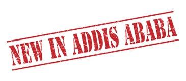 Nouveau dans le timbre d'Addis Ababa Photo libre de droits
