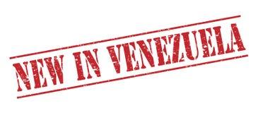 Nouveau dans le timbre du Venezuela Photos stock