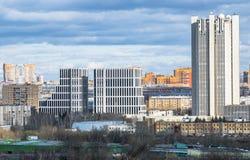 Nouveau district des affaires à Moscou Images stock