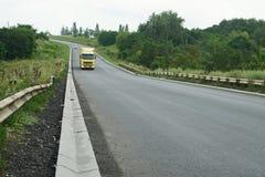 Nouveau drainage d'assiette de la route et de précipitation exceptionnelle Drainage de précipitation exceptionnelle pour le drain images stock