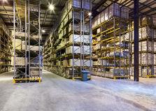 Nouveau et moderne entrepôt Image libre de droits