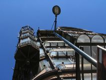 nouveau för facade för konstbrussels byggnad Royaltyfri Foto